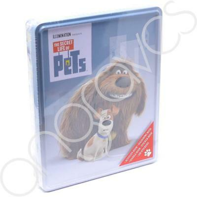 Secret Life of Pets Tin of Books 100 Stickers Activity Colouring Book & More Col