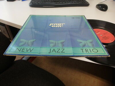 Page One New Jazz Trio 1970 Peter Trunk / Manfred Schoof