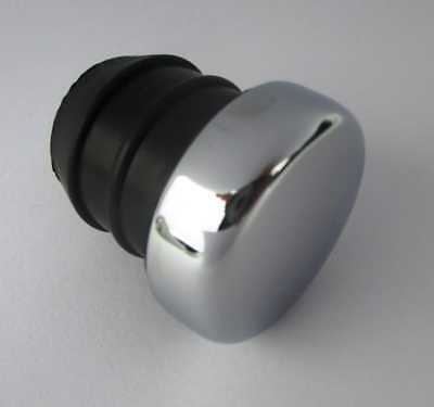 Chrome Oil Tank Plug For Side Fill Tanks 65-99 Harley Replaces Oem 62644-84T New