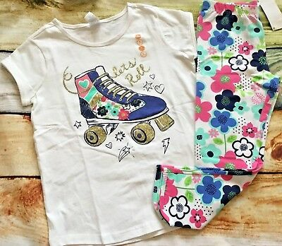 Gymboree Mix N Match Let's Roll Skate Top Capri Leggings NWT 6 7 8 10 12 Outlet