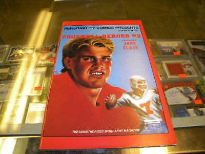 John Elway Denver Broncos Football and Baseball Personality Comic Book