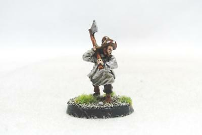 Lord Of The Rings Hobbits Shire Hobbit Militia With Axe Metal (w616)