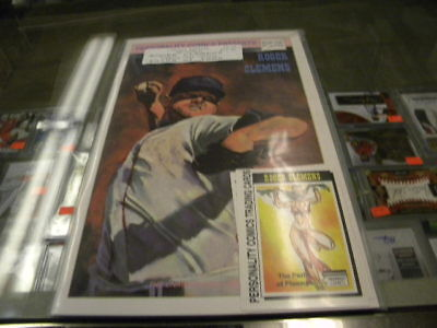 Roger Clemens Boston Red Sox Personality Comic Book
