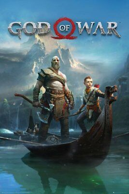 FP4564 God Of War Key Art MAXI POSTER SIZE 91.5 x 61cm
