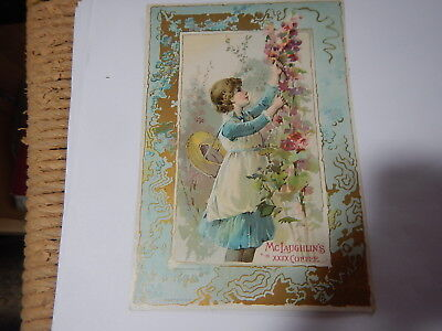 Old advertising trade card McLaughlin's Coffee