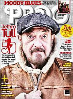 Prog Mag Issue 85 - Cover Jethro Tull + Prog Cd New  March 2018 Issue