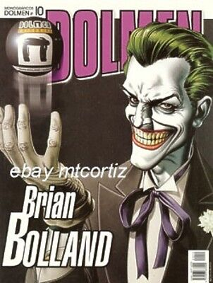 Brian Bolland Rare Spain Sketchbook Judge Dredd & More