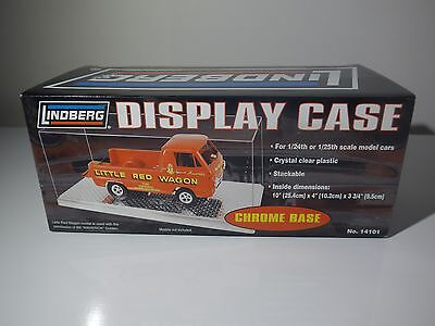 Lot of 3 Lindberg display cases for 1:24 &1:25 models get the 4th one for free