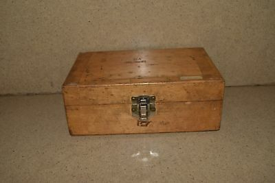 "++ Test Equipment Case 8 1/4"" X 5"" Approx Dimensions (#2)"