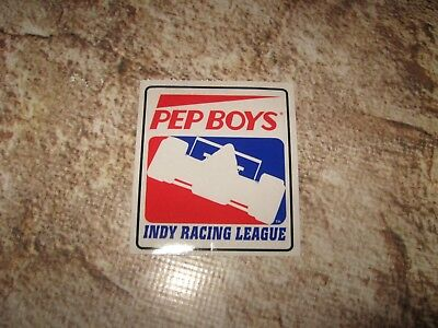F1 F-1 Formula One Pep Boys Window Sticker Decal Indy Racing League (1) New