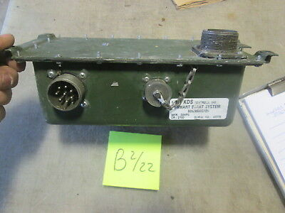 Used KDS Smart Start CR-2700 EESS for Parts/Repair, HMMWV M998