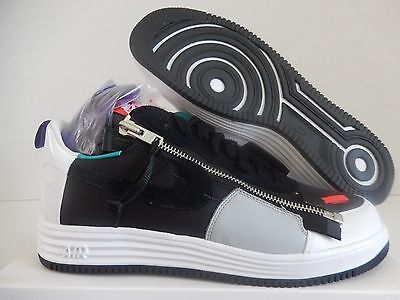 Nike Lunar Force 1 Sp / Acronym Black-White-Green-Purple Sz 14