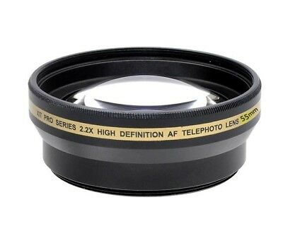 Xit 55mm 2.2x Pro Series Telephoto Lens (Black)