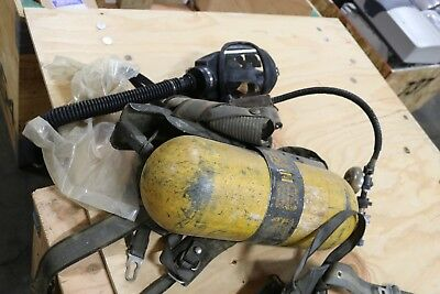Msa Ultralite Ii Air Breathing Apparatus With Tank  Mask