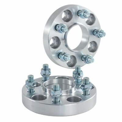 For Nissan 350Z 370Z 25mm Bolt On Hubcentric Wheel Spacers 5x114.3 66.1mm