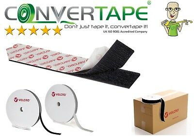 VELCRO Brand PS14 Self Adhesive Tape Hook & Loop Stick On Sticky Fasteners New