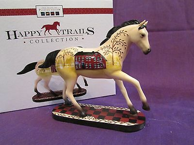 Trail of Painted Ponies Happy Trails Collection Simply Home Country Horse NIB!