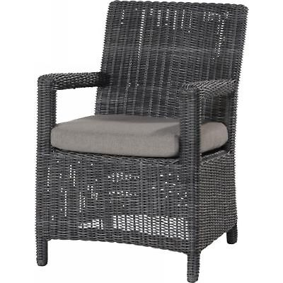 AuBergewohnlich Gallery Of Seasons Outdoor Somerset Dining Sessel Polyrattan Charcoal  Wicker With Outdoor Sessel Polyrattan