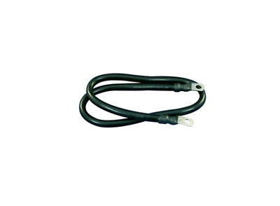 Marpac Marine Premade Tinned Copper Battery Cable 4 AWG 24 Inch Black