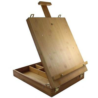 artists Bamboo table top easel easels with built in storage Loxley