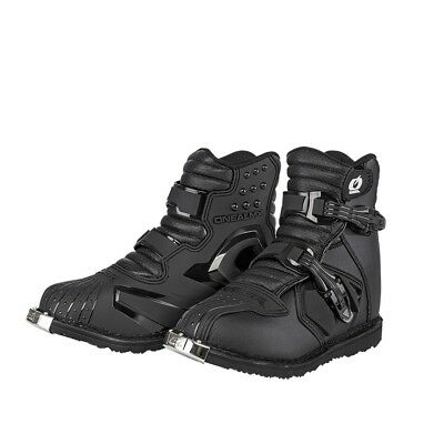 O'Neal Rider Boot Shorty Kurzschaft Offroad Stiefel Crrossstiefel black 45 US11