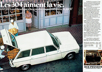 Publicite Advertising 065 1976 Datsun La F 2 2 Pages Breweriana, Beer
