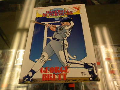 George Brett Kansas City Royals Baseball Superstars Comic Book