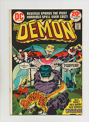Demon #14 - Return of Witchboy - (Grade 6.5) 1973