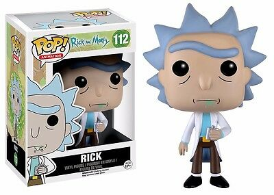 Funko Pop! Animation Rick And Morty Rick Vinyl Action Figure