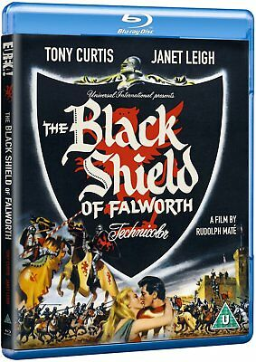 The Black Shield of Falworth (1954) Blu-Ray Import BRAND NEW - USA Compatible