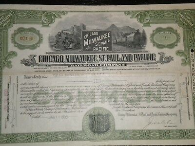 Chicago,Milwaukee,St. Paul and Pacific Railroad Co, 1930  Free Shipping