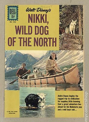 Four Color (Series 2) #1226B 1961 Dog Facts Back Cover Variant VG+ 4.5
