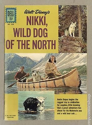 Four Color (Series 2) #1226B 1961 Dog Facts Back Cover Variant VG 4.0