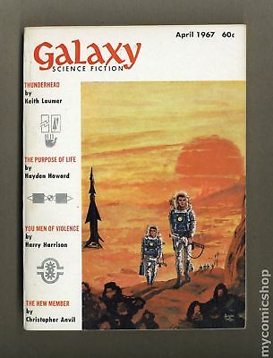 Galaxy Science Fiction (pulp/digest) #Vol. 25 #4 1967 FN 6.0