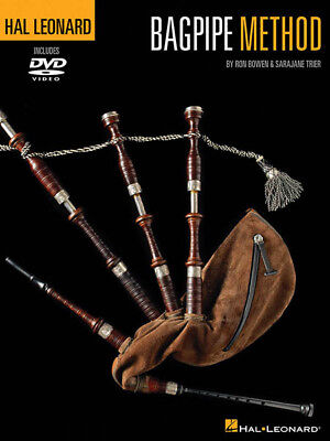 Hal Leonard Bagpipe Method Learn How to Play Music Lessons Book DVD Pack NEW