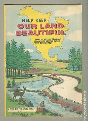 Help Keep Our Land Beautiful 1962 VG/FN 5.0