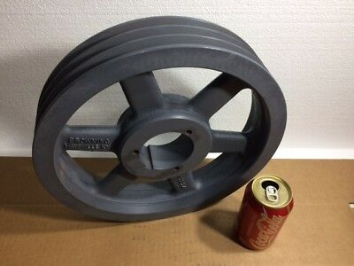 NEW Browning 1002708 3 Grove V-Belt Pulley 12.75 in O.D. 3TB124