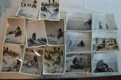 Lot Vintage Photos 1960s Motorcycles Trail Bike Motocross Ralley New York 851014