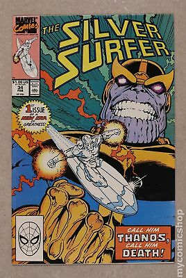 Silver Surfer (2nd Series) #34 1990 VF- 7.5