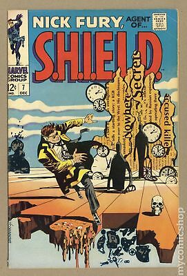 Nick Fury Agent of SHIELD (1st Series) #7 1968 VG+ 4.5