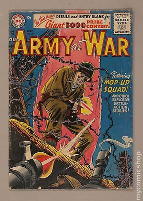 Our Army at War #50 1956 GD- 1.8