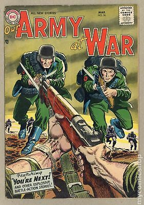 Our Army at War #56 1957 GD/VG 3.0