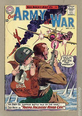 Our Army at War #132 1963 GD+ 2.5