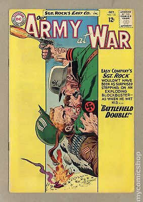 Our Army at War #135 1963 GD+ 2.5 Low Grade