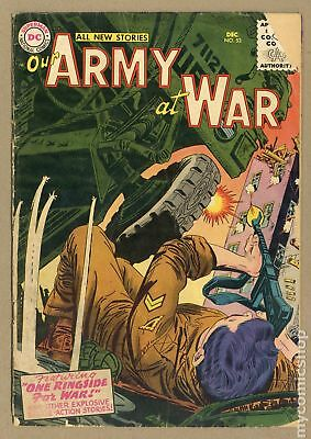Our Army at War #53 1956 GD 2.0