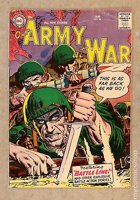 Our Army at War #54 1957 GD/VG 3.0