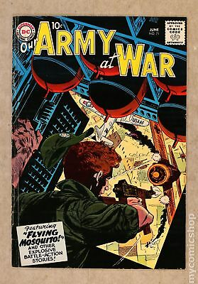 Our Army at War #71 1958 VG/FN 5.0