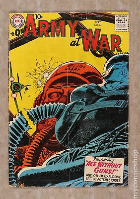 Our Army at War #74 1958 GD 2.0