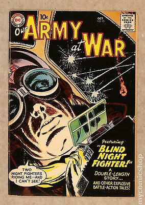 Our Army at War #75 1958 VG/FN 5.0