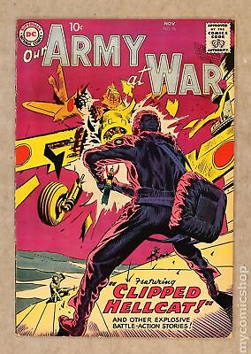 Our Army at War #76 1958 VG/FN 5.0